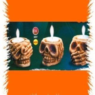 candele teschio