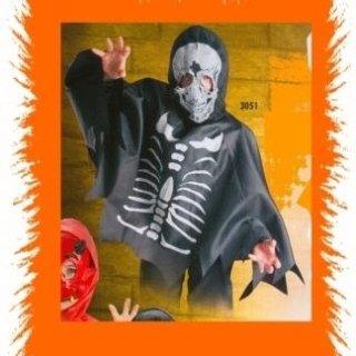 Travestimento bimbo scheletro