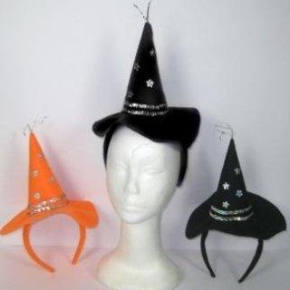 Cerchietti con mini cappellini