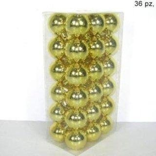 sfere di natale dorate