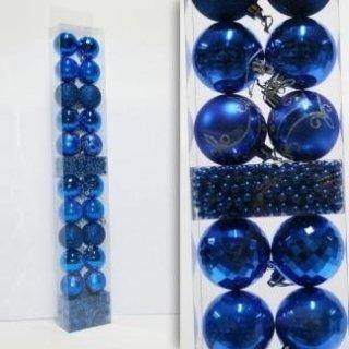 sfere di natale blu