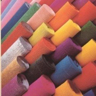 rotolini carta crespata colorata