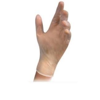 guanti monouso semitrasparente
