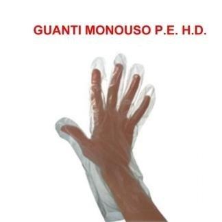 guanti monouso pe hd