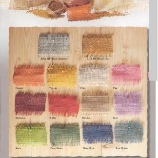 nastri colorati juta