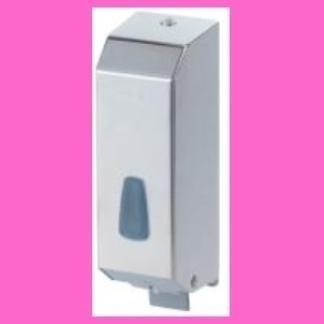 dispenser per sapone con coperchio acciaio