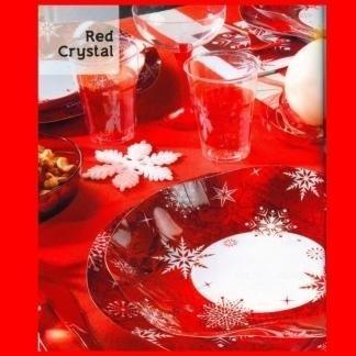 piatti e bicchieri natalizi