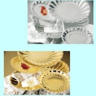 piatti oro e argento monouso