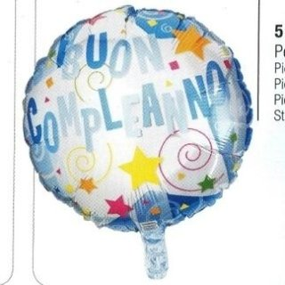 palloncino gas buon compleanno