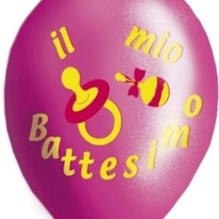 Palloncini per il battesimo femmina