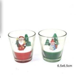 candele soggetti natalizi
