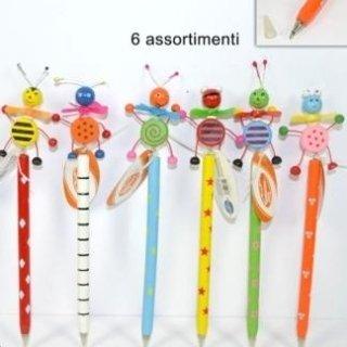 matite con animaletti