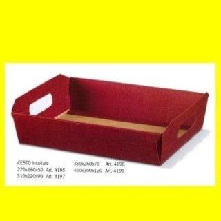 cestini confezione regalo bordeaux