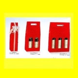 scatole portabottiglie rosso