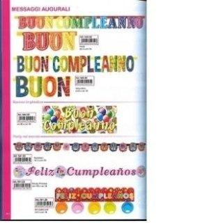 striscioni colorati compleanno