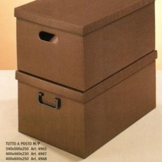 scatole in cartone per vestiti