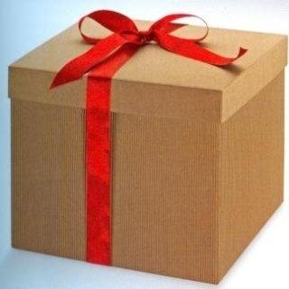 scatole di cartone regalo