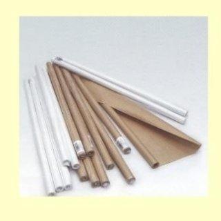 rotoli di carta in kraft avana e bianco