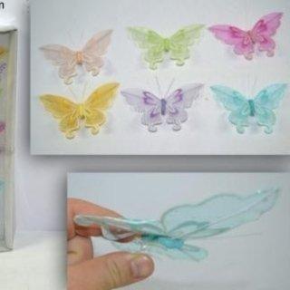 Farfalle decorative colorate