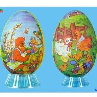 Contenitori in cartoncino a uovo apribili
