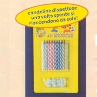 Blister candeline dispettose