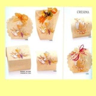 scatole di cartone per cresima