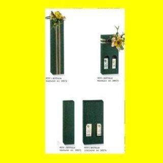 scatole portabottiglie verde