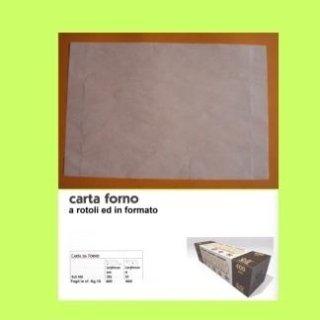 carta siliconata per forno antiaderente