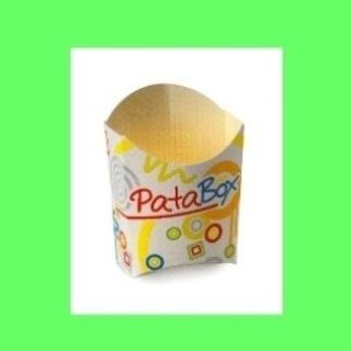 porta patatine in cartone