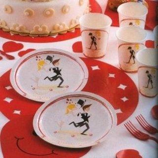 piatti e bicchieri monouso matrimonio