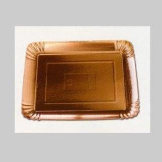 vassoi cartoncino bianco alluminato oro