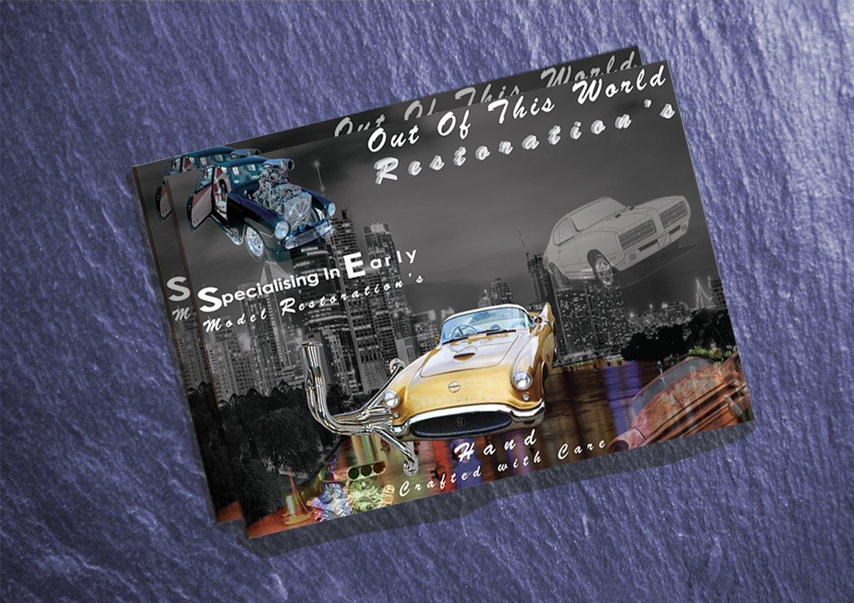 Brochure design by Conceptual Graphics England
