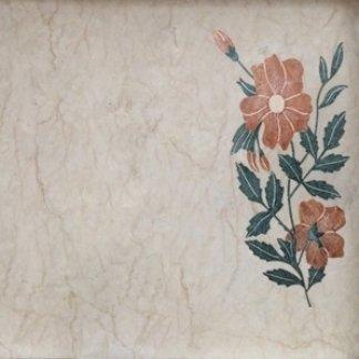 intarsio di fiori