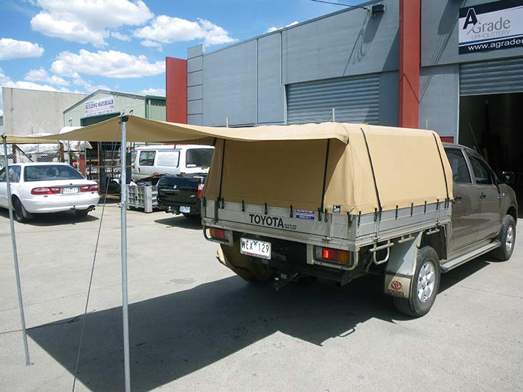 Canvas Trailer Canopies in Melbourne & Trailer Canopy in Melbourne | A Grade Upholstery