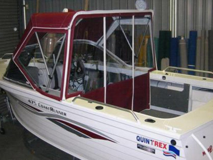 DURABLE MARINE CANOPIES manufactured & Marine Canopies | Melbourne | A Grade Upholstery