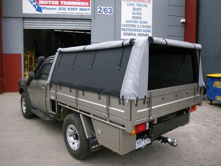 view all & Custom Canopies for Land Cruisers in Melbourne