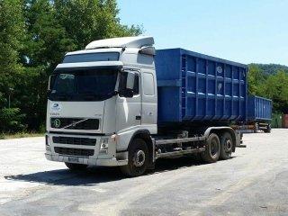 autotreno con container