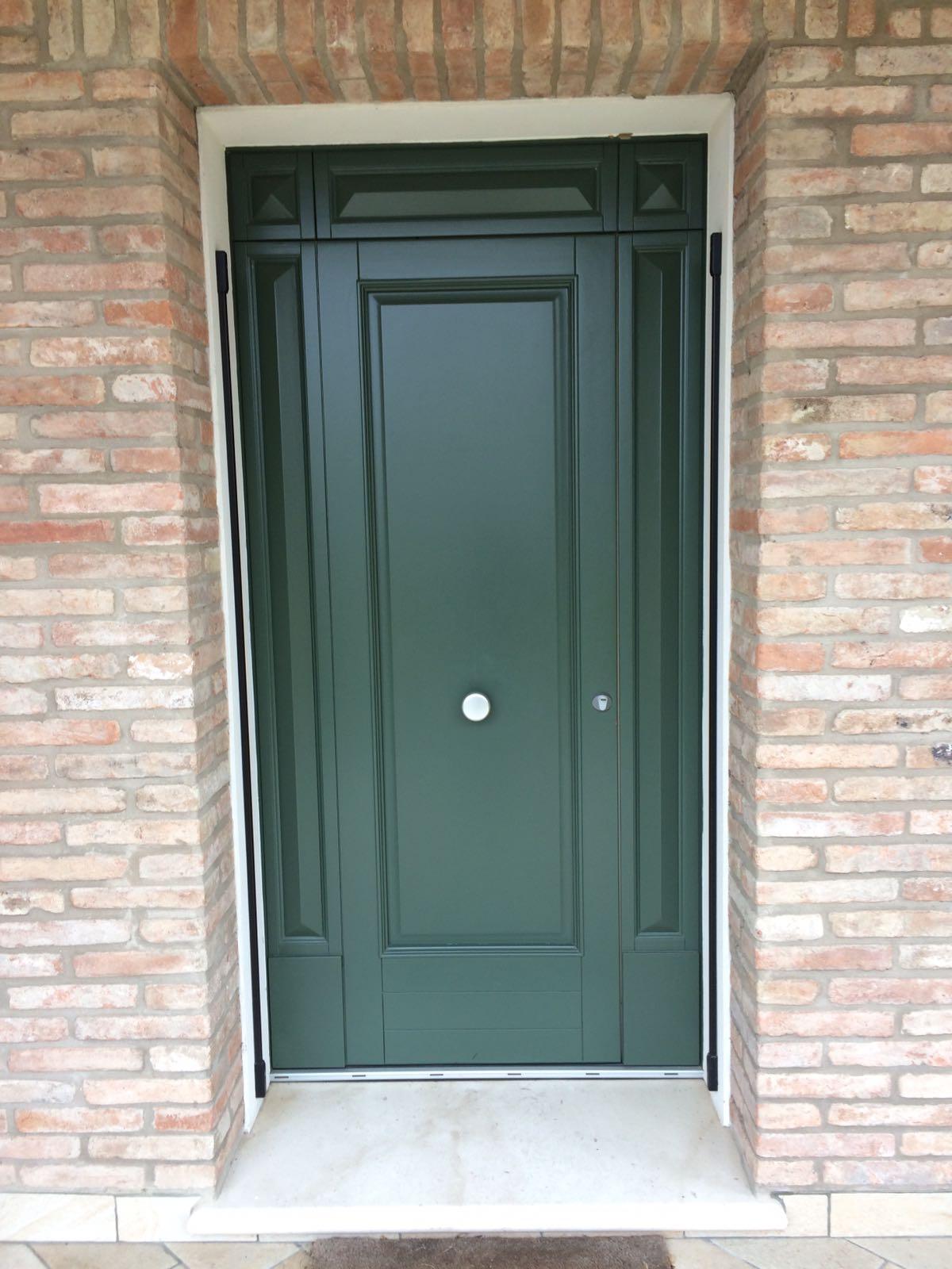 Porta esterna verde