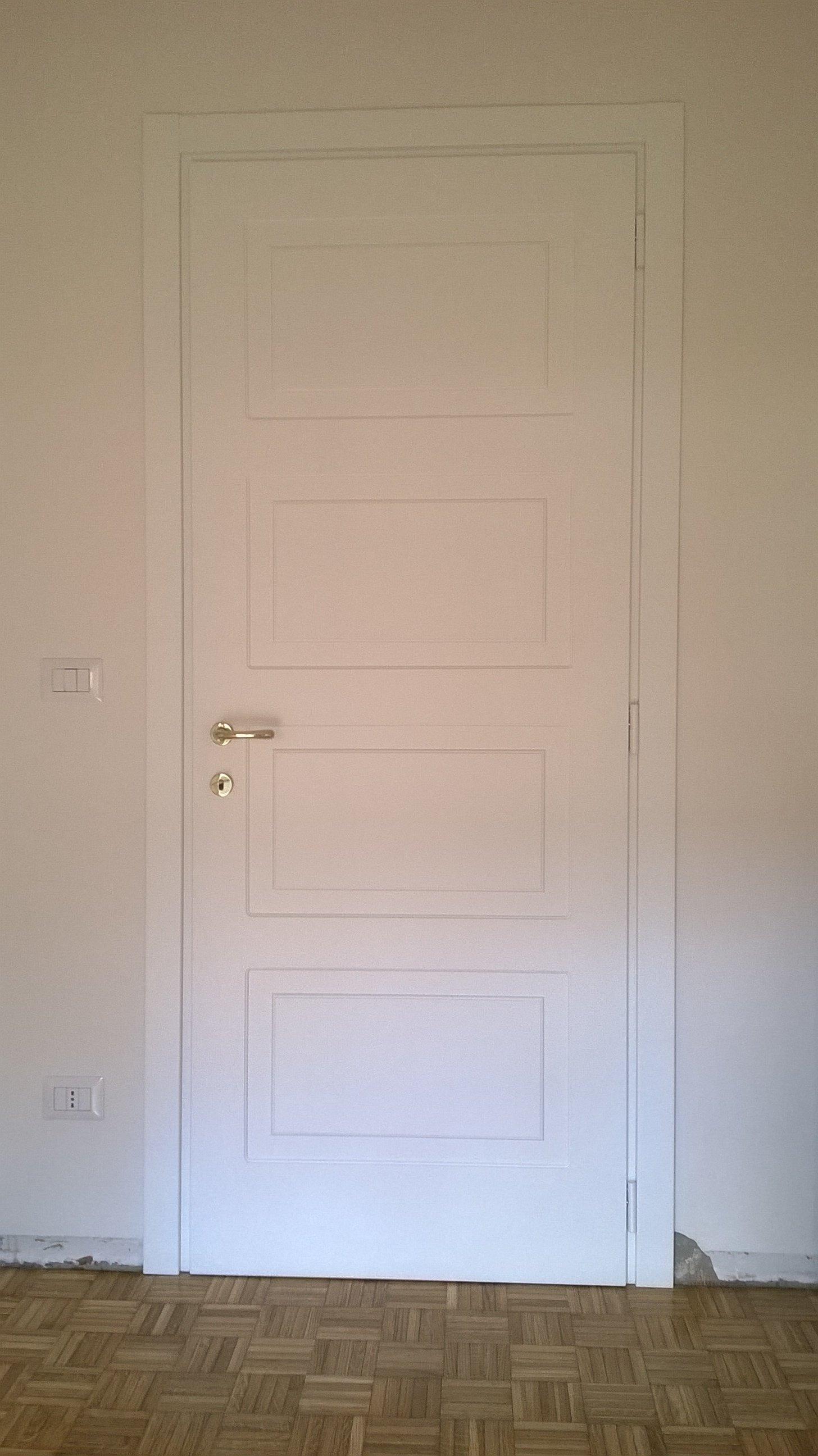 Porta interna bianca
