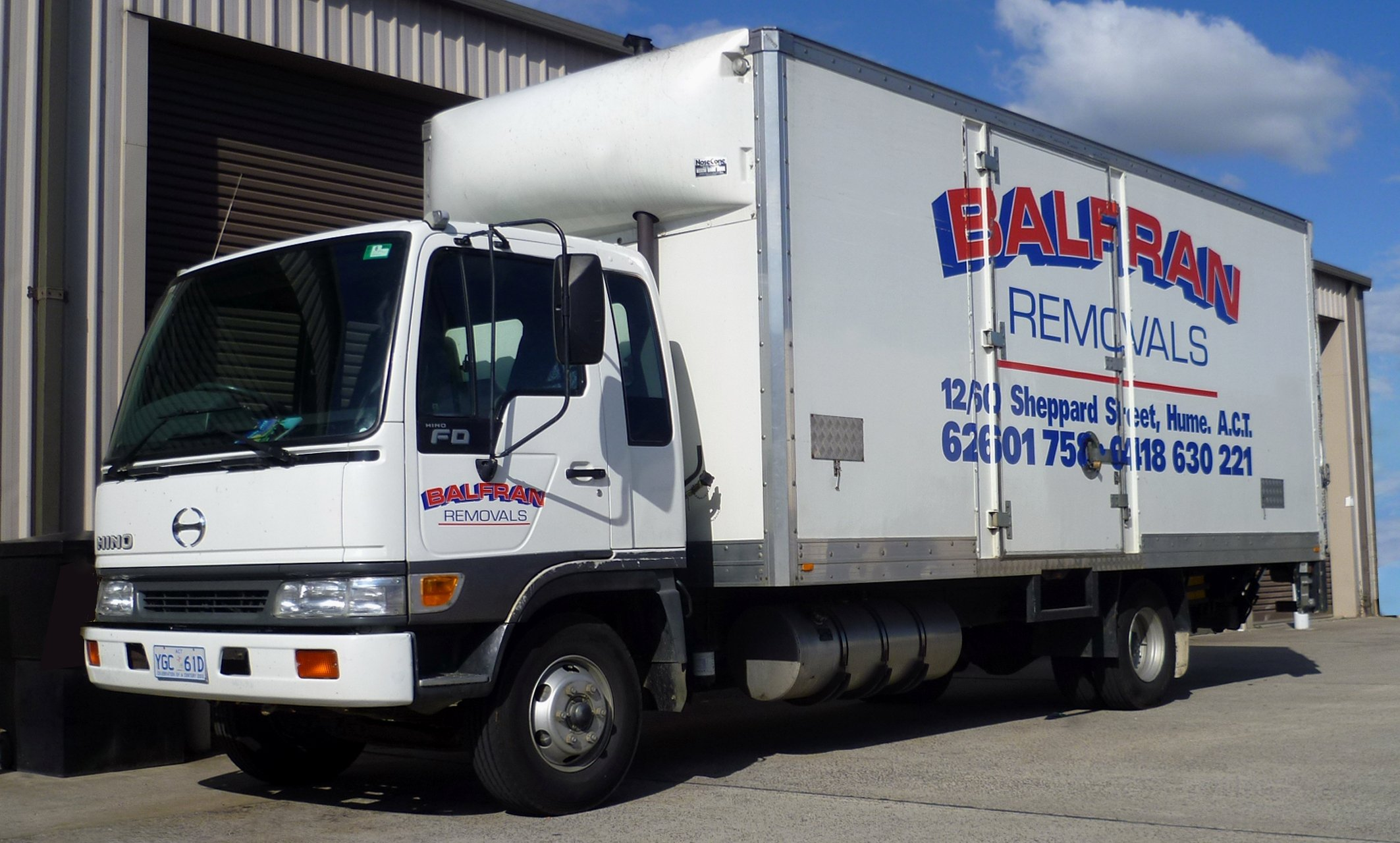 Balfran Truck - removals