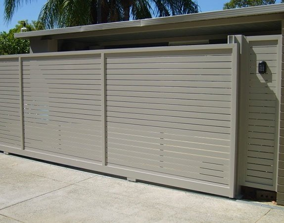 One of our automatic gates in Claremont