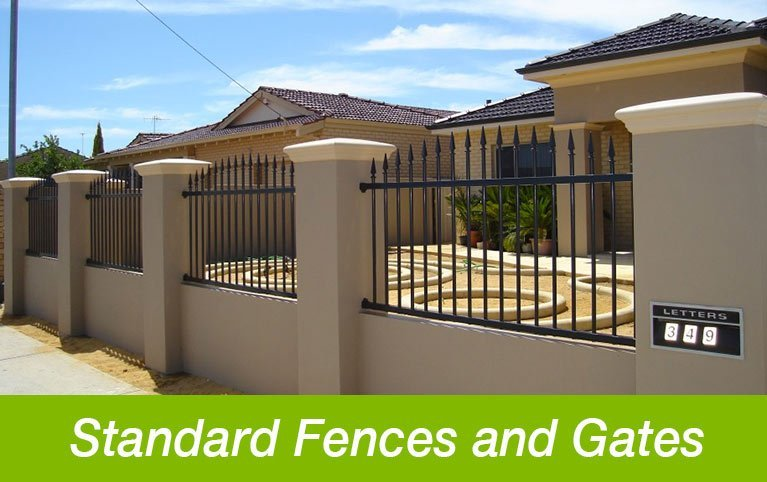 Classic Aluminium standard fences and gates