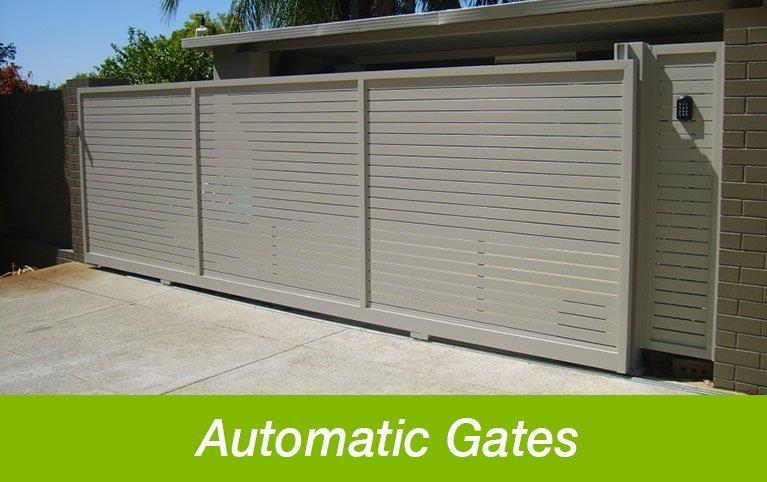 Classic Aluminium automatic gates