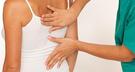 back massage session