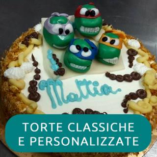 TORTE CLASSICHE E PERSONALIZZATE