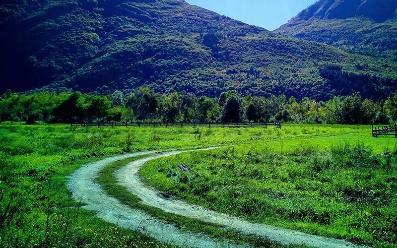 Sentiero per passeggiate