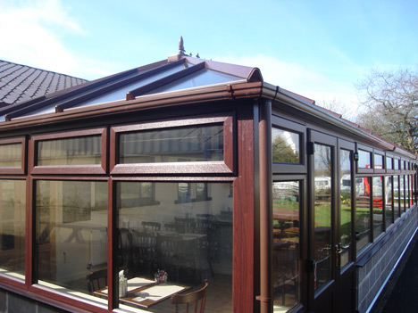 glass windows, doors and roofing
