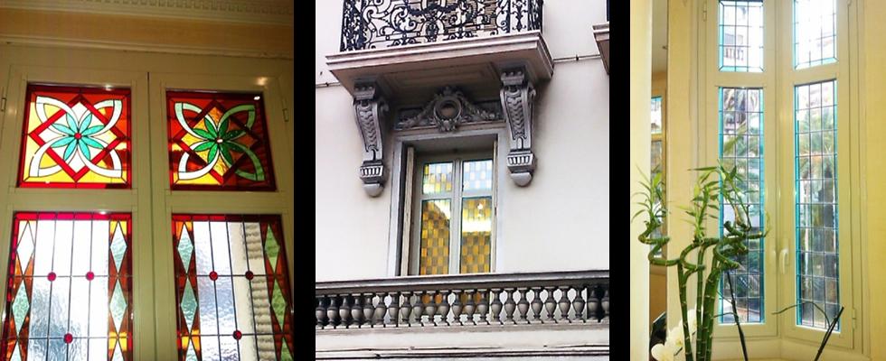 fenêtres en aluminium, fenêtres en PVC