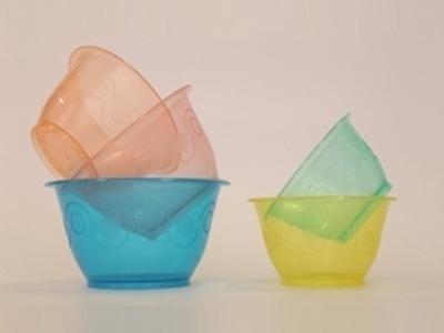 Coppette in plastica