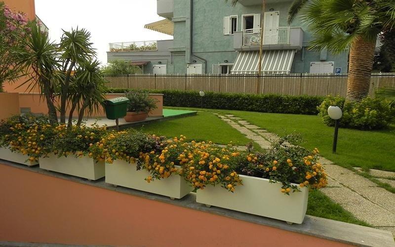 Residence con spazio verde privato
